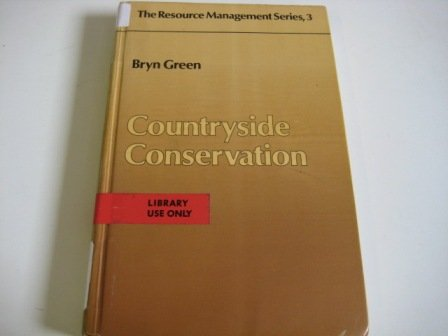 9780047190018: Countryside Conservation (The Resource management series)