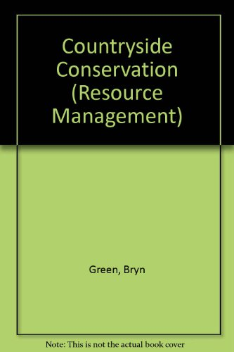 9780047190056: Countryside Conservation (Resource Management)