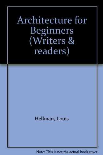 9780047200335: Architecture for Beginners (Writers & readers)