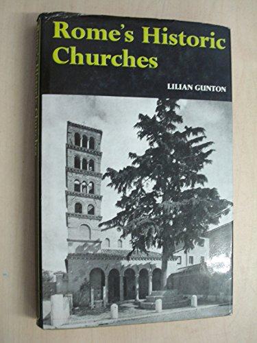 9780047260018: Rome's Historic Churches