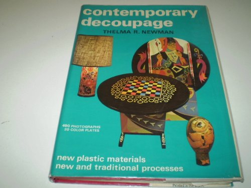 9780047300202: Contemporary Decoupage (Creative Arts & Crafts)