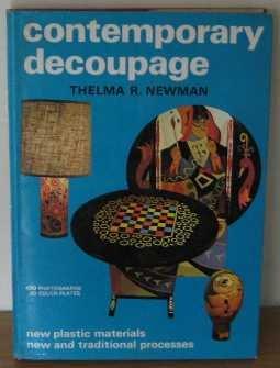 9780047300202: Contemporary Decoupage (Creative Arts & Crafts)