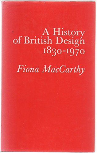 9780047450082: History of British Design