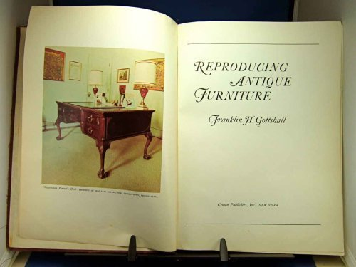 9780047490071: Reproducing Antique Furniture (Creative Arts & Crafts)