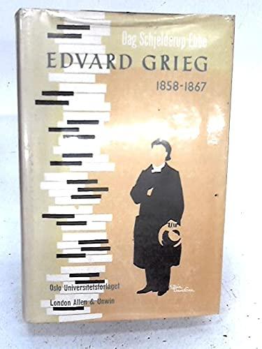 Edvard Grieg, 1858-67: Schjelderup-Ebbe, Dag