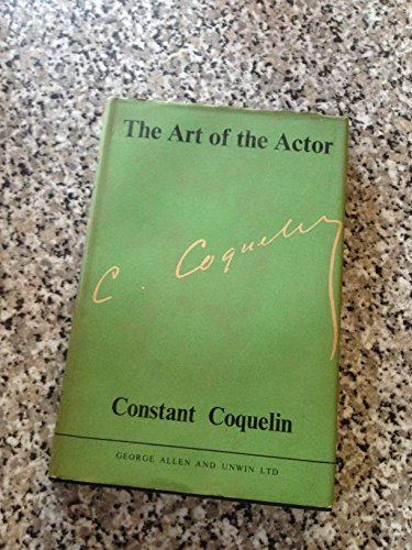9780047920028: Art of the Actor