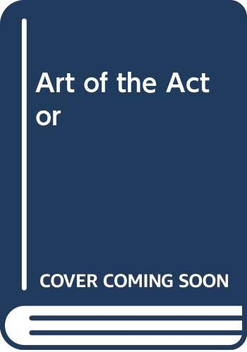 9780047920059: Art of the Actor