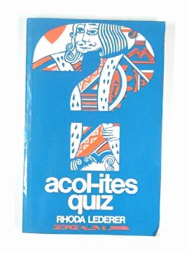 9780047930140: Acol-ite's Quiz