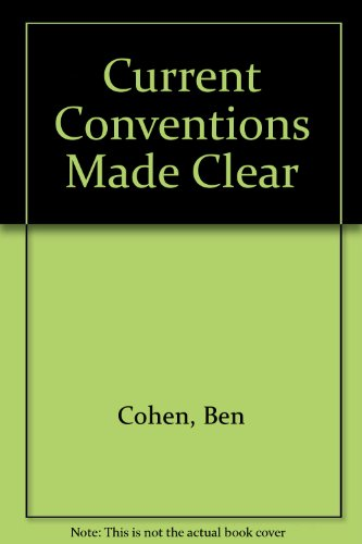 9780047930201: Current Conventions Made Clear