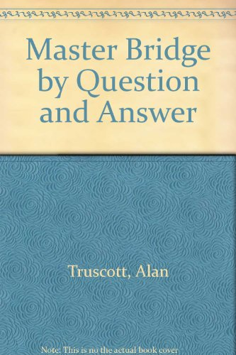 9780047930263: Master Bridge by Question and Answer