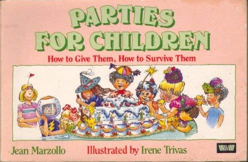 9780047930652: Parties for Children