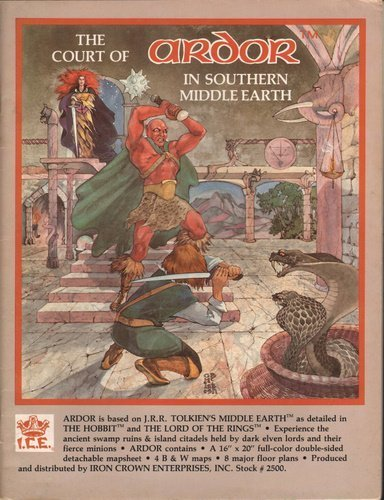 9780047930713: The Court of Ardor in Southern Middle Earth (MERP/Middle Earth Role Playing) (Fantasy Role-playing Book)