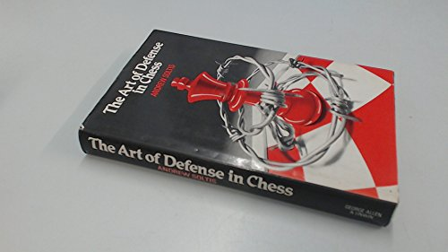 9780047940125: The Art of Defense in Chess