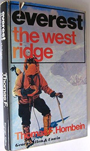 9780047960130: Everest: the West Ridge