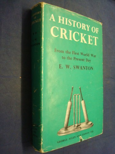 9780047960239: History of Cricket: v. 2