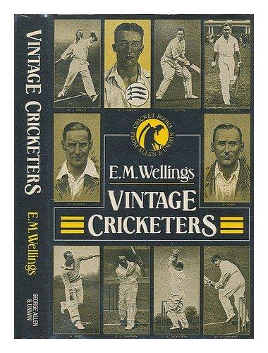 9780047960666: Vintage Cricketers