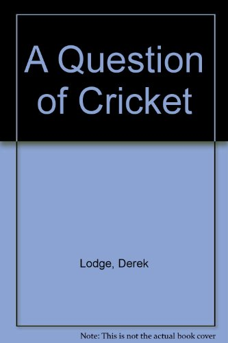 9780047960703: Question of Cricket