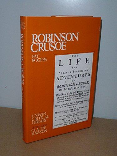 9780048000026: Robinson Crusoe (Unwin Critical Library)