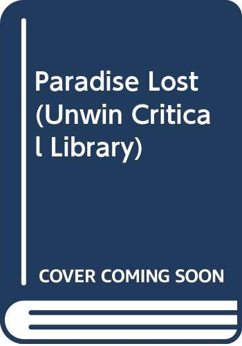 9780048000040: Paradise Lost (Unwin Critical Library)