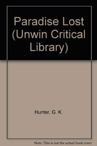 "9780048000071: ""Paradise Lost"" (Unwin Critical Library)"