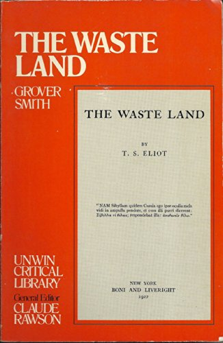 9780048000156: The Waste Land