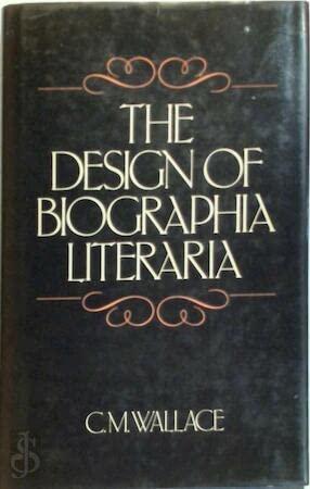 9780048000163: The Design of Biographia Literaria