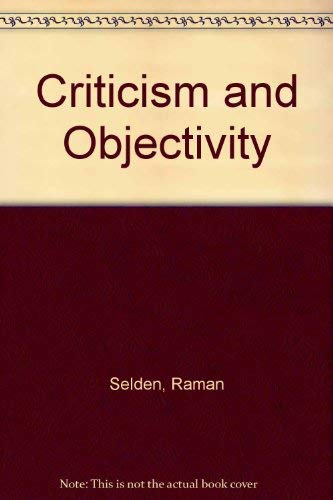 9780048000231: Criticism and Objectivity