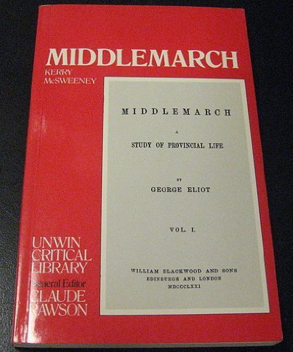 9780048000323: Middlemarch (Unwin Critical Library)