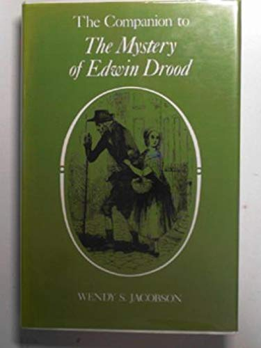 9780048000637: The Companion to the Mystery of Edwin Drood (Dickens Companions)