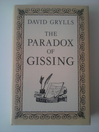 9780048000811: The Paradox of Gissing
