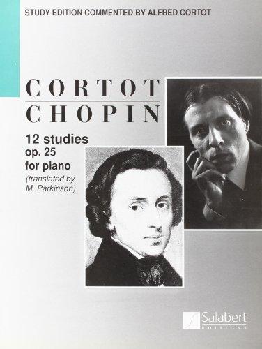 9780048002655: 12 STUDIES OP.25 (CORTOT) PIANO (TEXTE ANGLAIS)