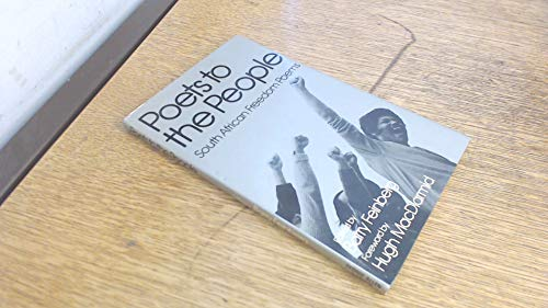 9780048080202: Poets to the People: South African Freedom Poems