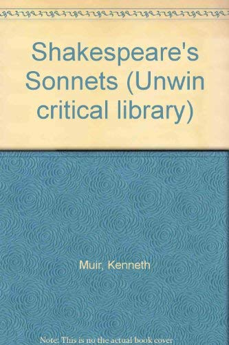 Shakespeare's sonnets.: Muir, Kenneth