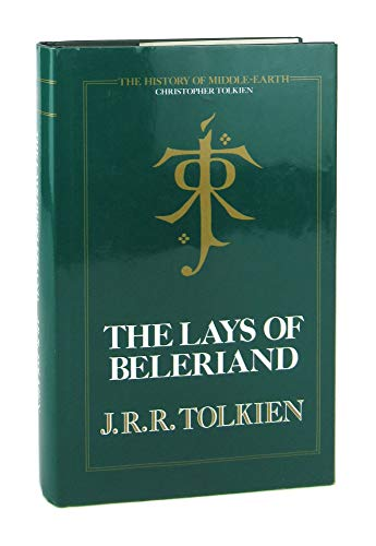 9780048232779: The Lays of Beleriand