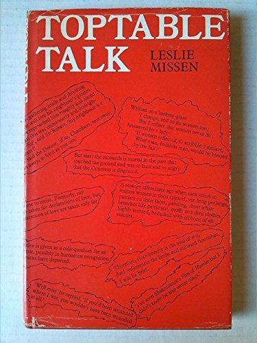 9780048270115: Toptable Talk