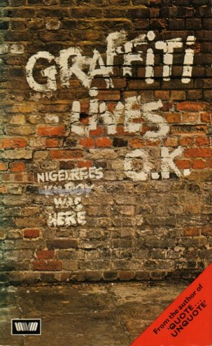 9780048270184: Graffiti Lives, O.K.