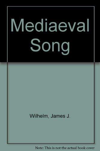 9780048400024: Mediaeval Song
