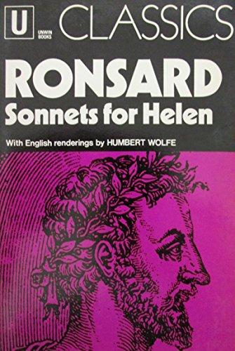 9780048410047: Sonnets for Helen