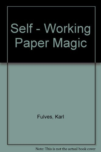 9780048624871: Self - Working Paper Magic
