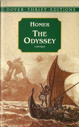 9780048640659: The Odyssey (Dover Thrift Editions)