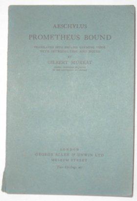 9780048820136: Prometheus Bound