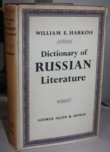 9780048910172: Dictionary of Russian Literature