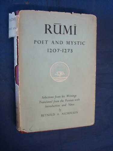 9780048910219: Rumi: Poet and Mystic (Ethical & Religious Classics of E.& W.) (English and Persian Edition)