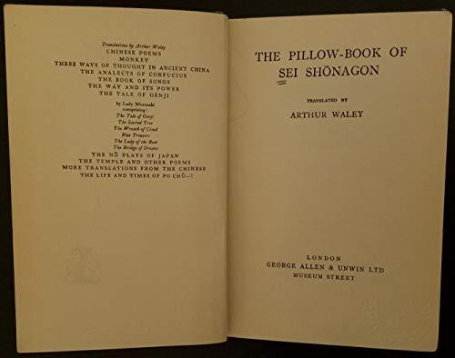 9780048950253: Pillow Book