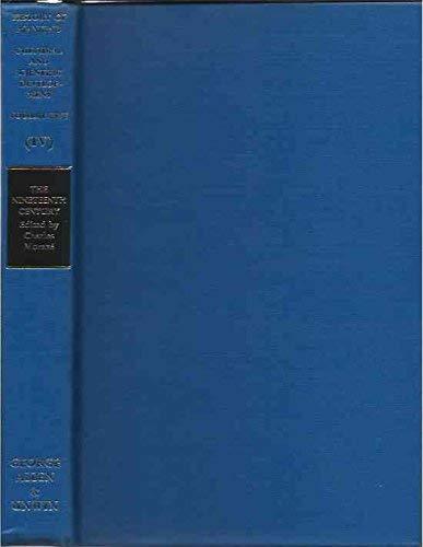 9780049000285: Nineteenth Century: v. 3 (History of Mankind)