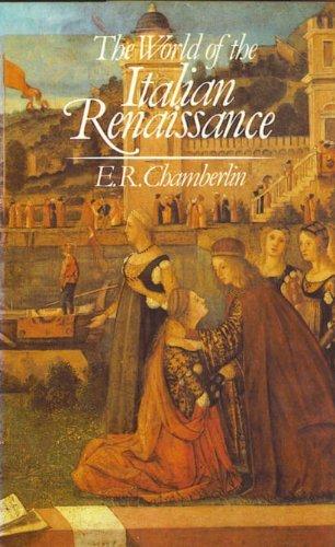 9780049000353: World of the Italian Renaissance