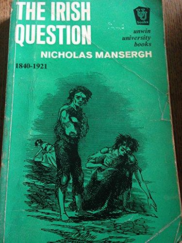 9780049010130: Irish Question (Unwin University Books)