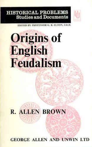 9780049010215: Origins of English Feudalism (Unwin University Books)