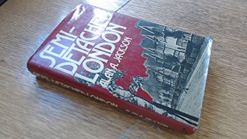 9780049020030: Semi-detached London: Suburban Development, Life and Transport, 1900-39