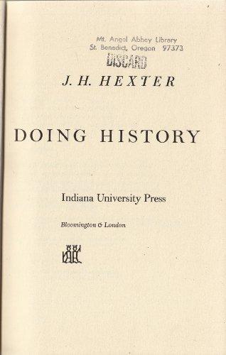 9780049070059: Doing History
